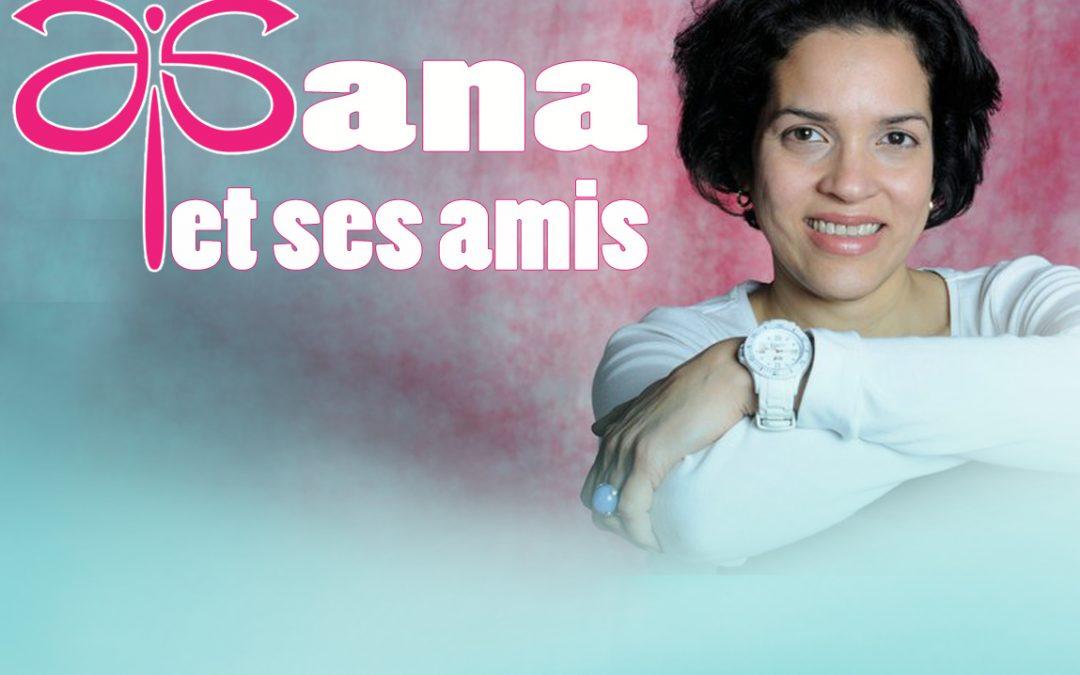 """Emission """"Ana et ses Amis"""" invités Claire de Lys et Andreas Mamet"""