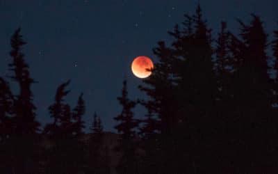 Pleine lune et éclipse du 05 juin 2020