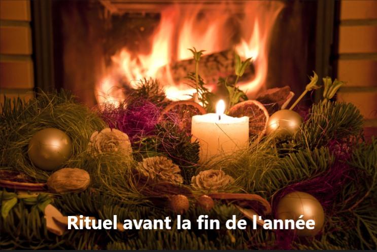 RITUEL AVANT LA FIN DE L'ANNÉE